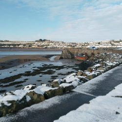 Instow in the snow